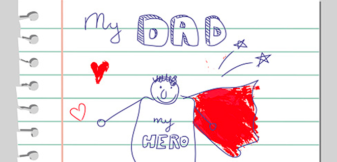 Saggi, premurosi, giocherelloni: evviva i papà #OriginalAtHome