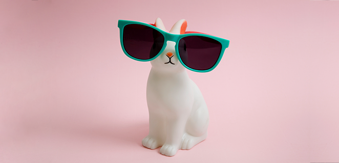 Original Easter: 3 DIY bunnies to wish everyone a Happy Easter!