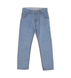 5 POCKETS LIGHTWEIGHT DENIM COTTON JEANS