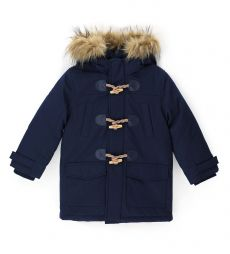 PARKA JACKET WITH QUILTED LINING