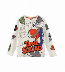 SPACE JAM T-SHIRT WITH SLEEVE PRINT