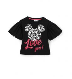 MINNIE T-SHIRT WITH BALLOON SLEEVES