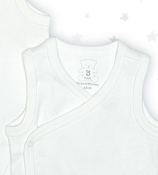 Unisex cotton babygrow