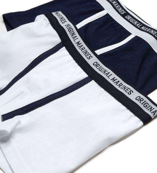 Boxer shorts with an elastic