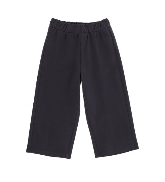 CROPPED TROUSERS WITH PATCH POCKETS BEHIND
