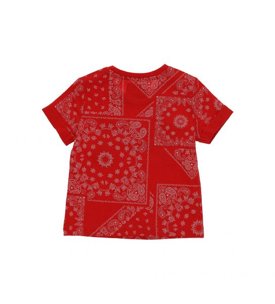 SHORT SLEEVE T-SHIRT WITH TURN-UP