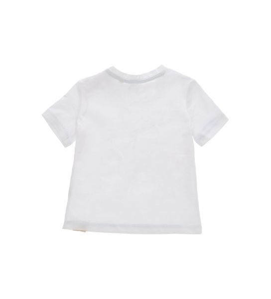 SHORT SLEEVE T-SHIRT AND ROUND NECK