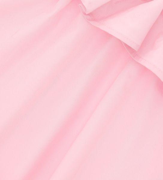 SLEEVELESS COTTON SATIN DRESS
