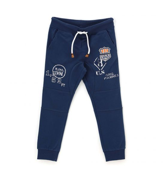 SWEATPANTS WITH PATCH