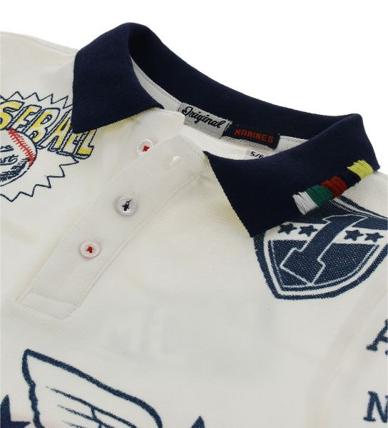 PIQUET POLO SHORT SLEEVE AND RIB FINISHES