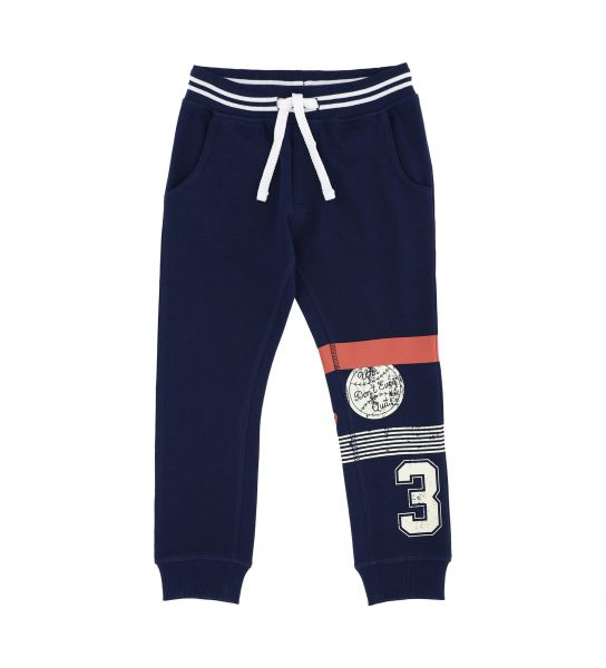 COTTON SWEATPANTS WITH SIDE POCKETS