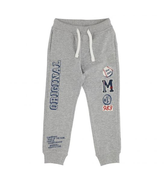 COTTON SWEATPANTS WITH WIRE POCKETS
