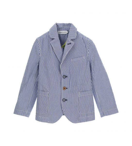 YARN DYED COTTON JACKET