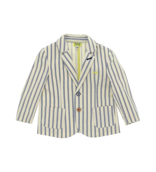 STRETCH COTTON JACKET AND REVER COLLAR