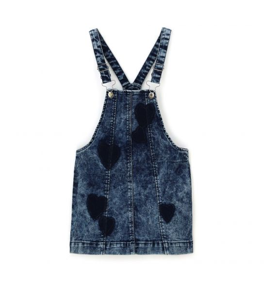 DUNGAREES SKIRT JEANS