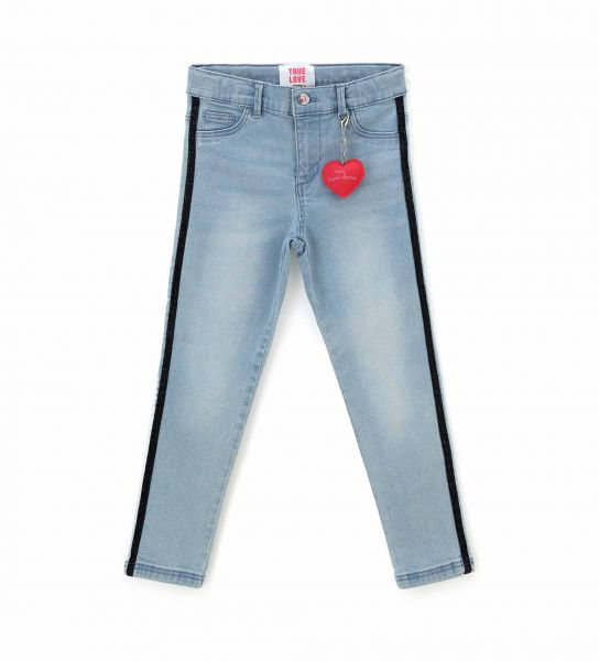PANTALONE JEGGING IN DENIM