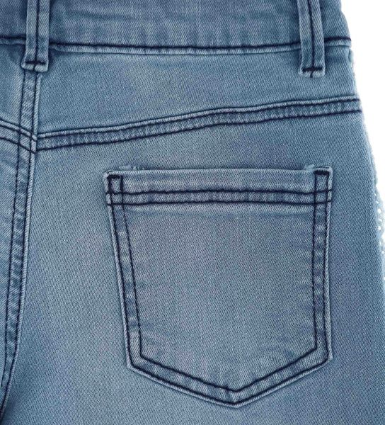 CROPPED ELASTICIZED JEANS