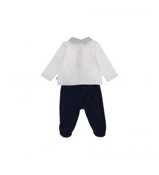 SET T-SHIRT AND TROUSERS WITH FEET
