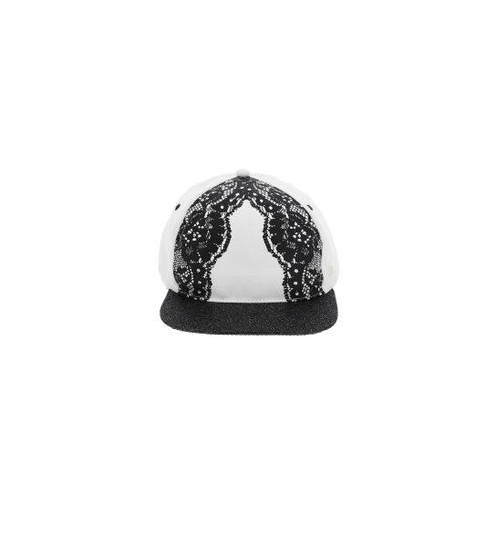 BASEBALL COTTON HAT WITH PRINT
