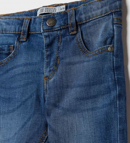 DENIM JEANS WITH 5 POCKETS