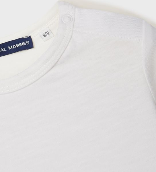 LONG SLEEVE T-SHIRT OPENING ON THE SHOULDER
