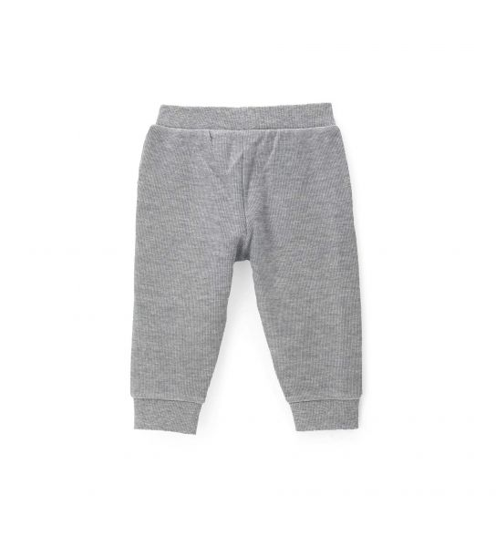COTTON SWEATPANTS WITH THREAD POCKETS