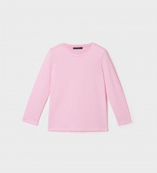 T-shirt da bambina in cotone