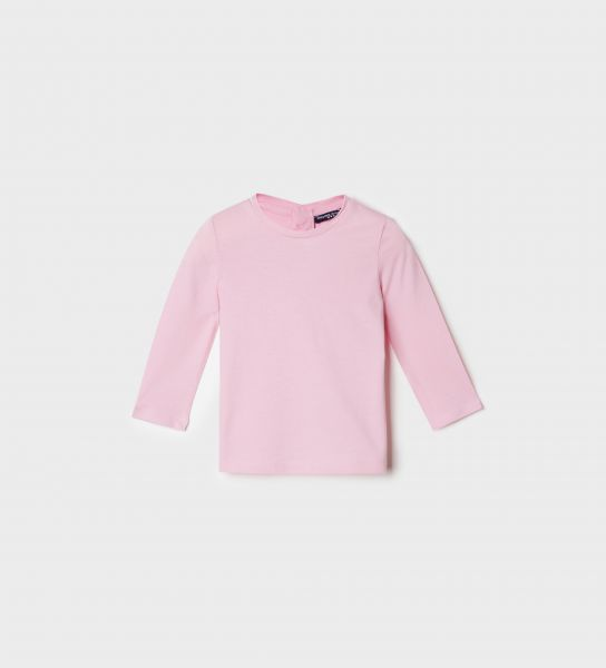 LONG SLEEVE T-SHIRT WITH LUREX EMBROIDERY