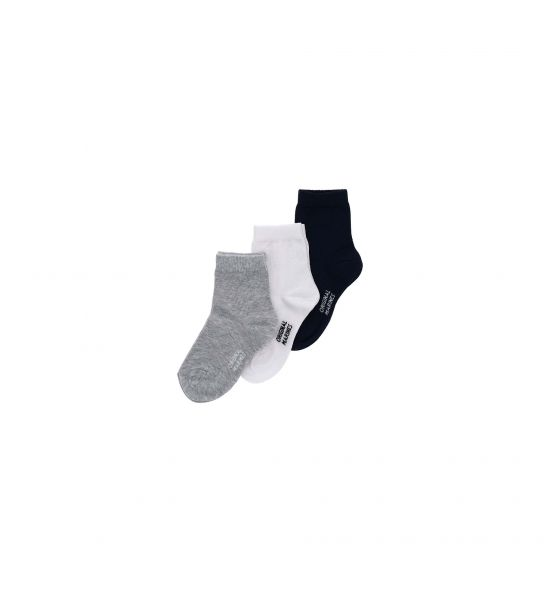 SHORT SOCKS WITH JACQUARD LOGO
