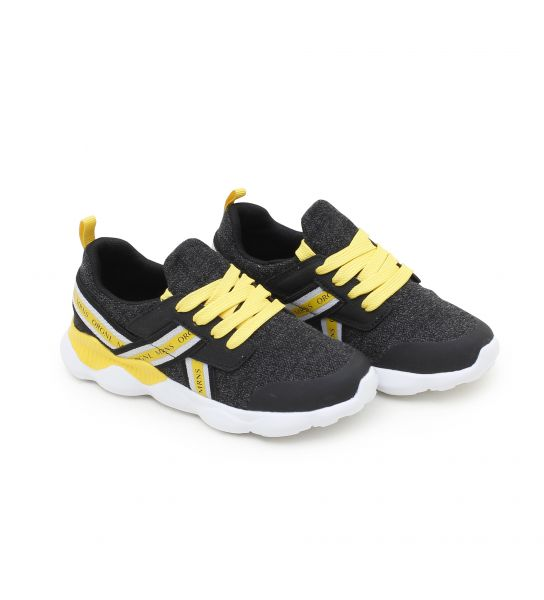 FABRIC SNEAKERS WITH ELASTICS