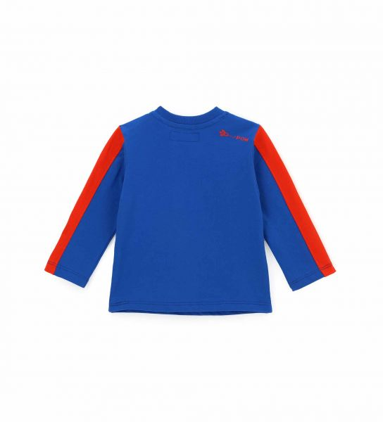 LONG SLEEVE T-SHIRT WITH FRONT PRINT