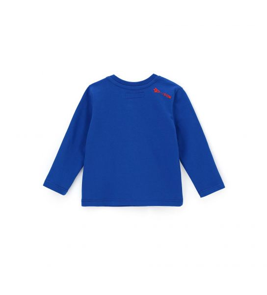 LONG SLEEVE T-SHIRT AND SMALL BACK PRINT