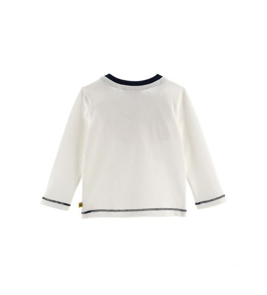 COTTON T-SHIRT WITH PRINTS