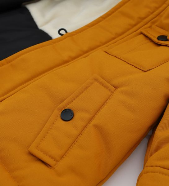 PARKA JACKET IN TECHNICAL FABRIC