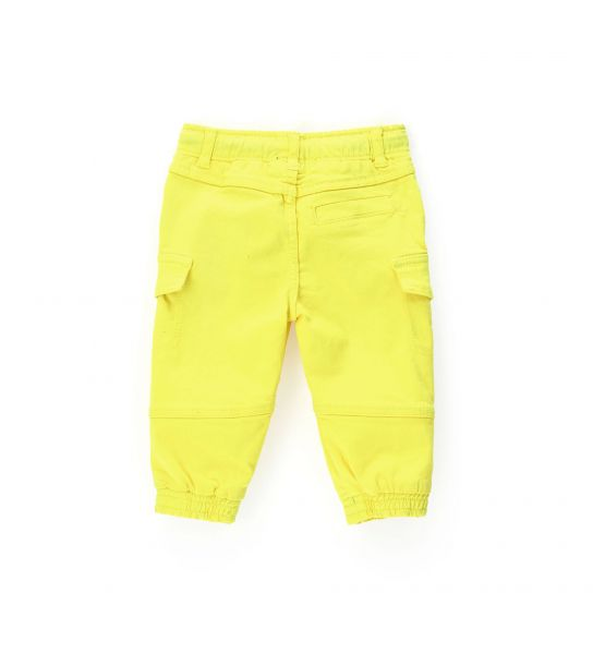 JOGGER WITH SIDE CARGO POCKETS