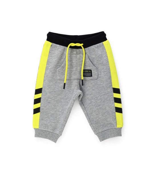 PANTS WITH SIDE PRINTED BANDS