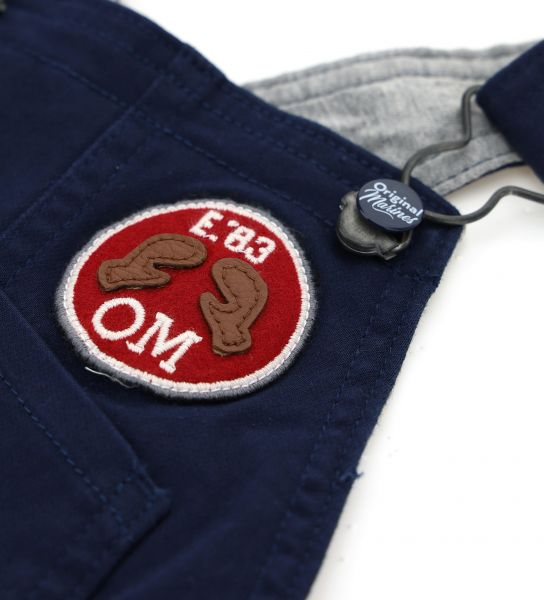 DUNGAREES LINED IN COTTON INSIDE