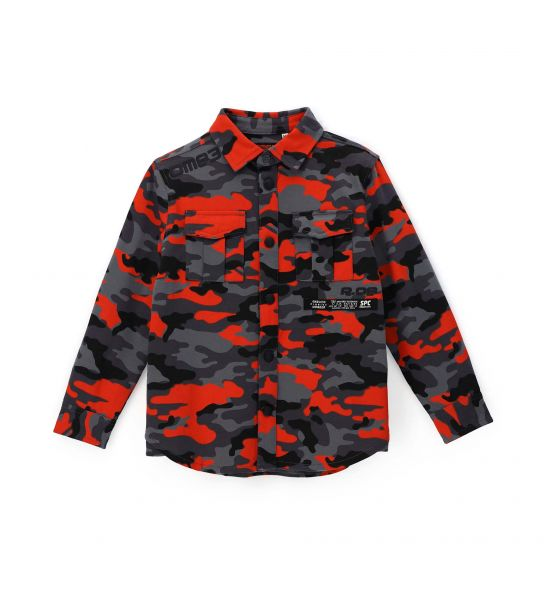 ALL OVER PRINTED COTTON SHIRT