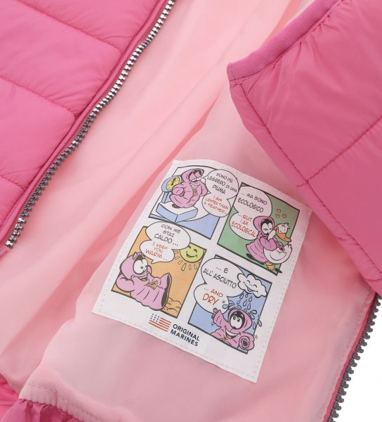 JACKET WITH ROUCHE ON THE HOOD