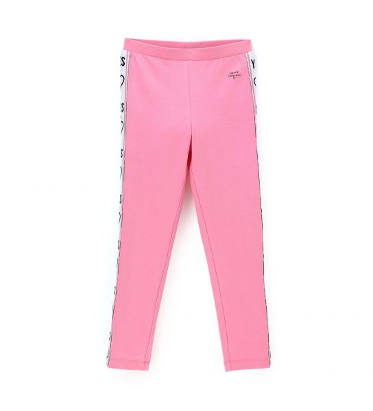 LEGGINGS WITH LUREX BANDS