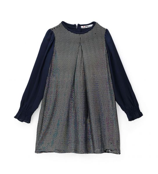 DRESS WITH FRONT PENCES