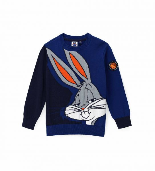 SPACE JAM PULLOVER WITH ROUND NECK