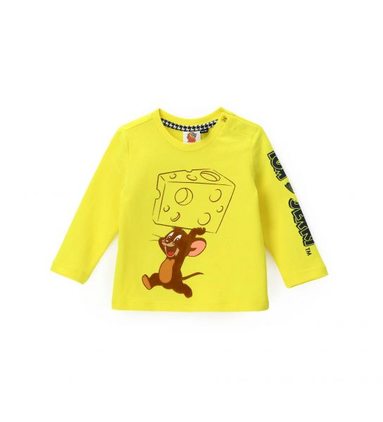 T-SHIRT TOM E JERRY CON STAMPE