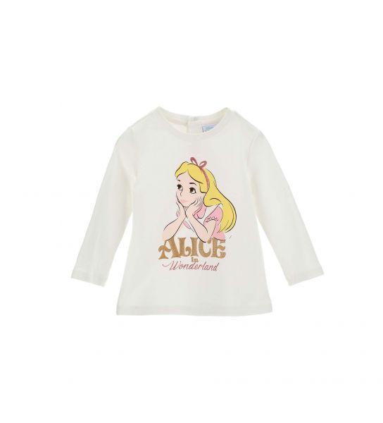 DISNEY ALICE T-SHIRT WITH PRINTS