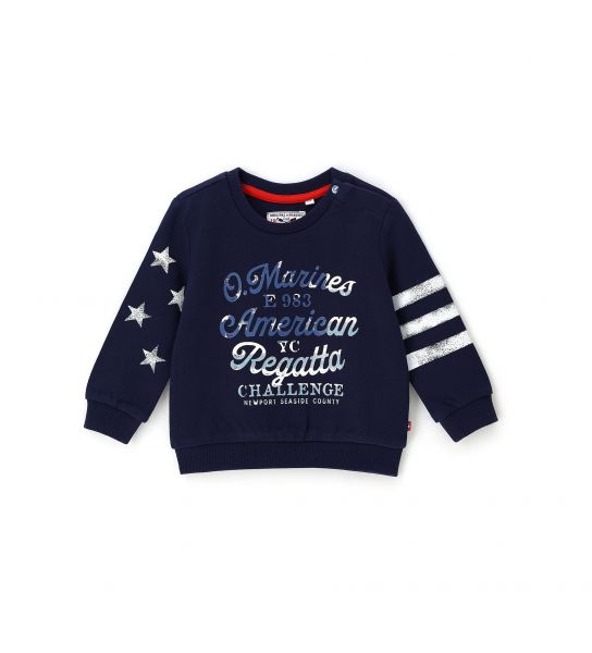 NEWBORN SWEATSHIRT IN COTTON