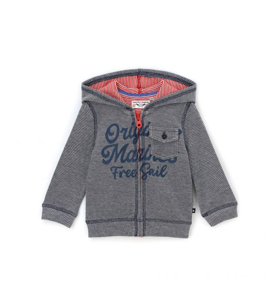 NEWBORN SWEATSHIRT WITH HOOD