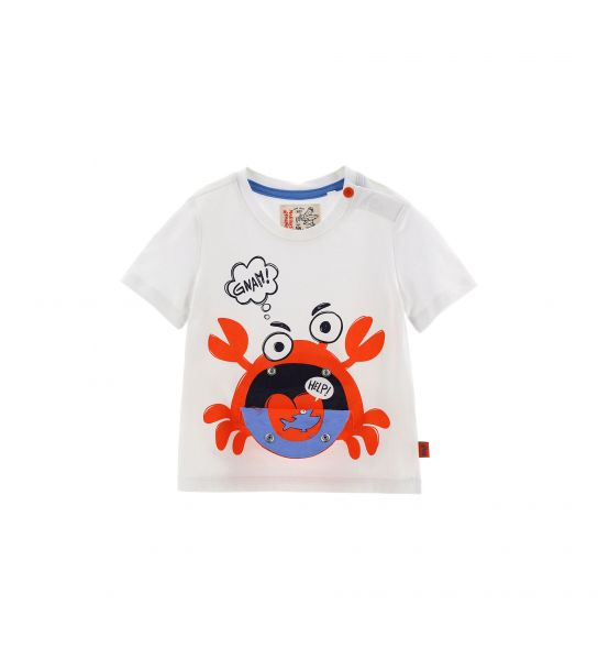 SHORT SLEEVE T-SHIRT WITH PRINTED POCKET