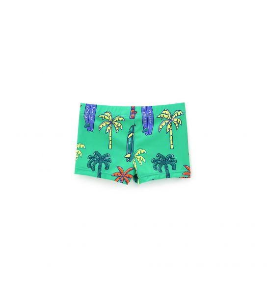 LYCRA SWIM SHORTS AND ALL OVER PRINT