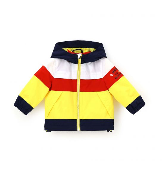 JACKET IN TECHNICAL FABRIC WITH ZIPPER