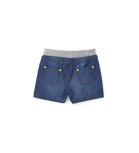SHORT IN DENIM E VITA A COSTE